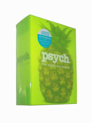 Psych The Complete Series (DVD, 2017,31-Disc Set) Free shipping