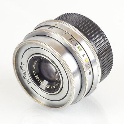 Schneider Xenar 37.5mm f2.8 1:2,8 for Robot converted to M39