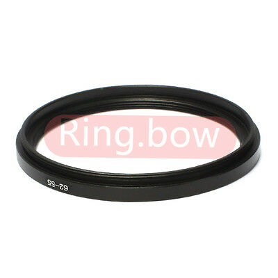 NEW 62mm-55mm Step-down Metal Filter Adapter Ring