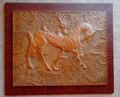 Australian Vintage Retro Copper Art Work By F.p.cornell 1972