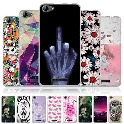 Soft TPU Rubber Silicon Cute Fashion 3D Customized Pattern Skin Back Case Cover