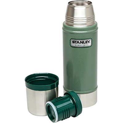 Stanley Coffee Thermos Vacuum Bottle Classic Stainless Steel Hammerton 16oz