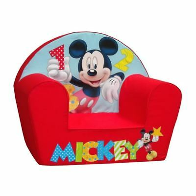 MICKEY Fauteuil Club Bébé Disney Baby Rouge