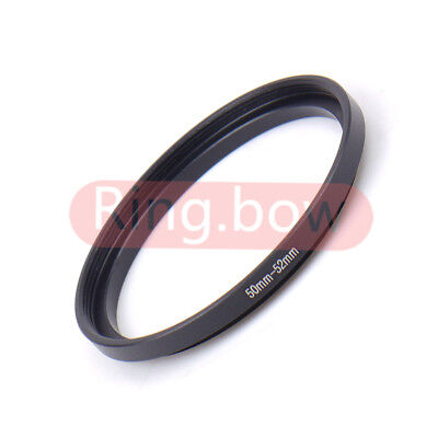 50-52mm Step-Up Metal Filter Adapter Ring / 50mm Lens to 52mm Accessory