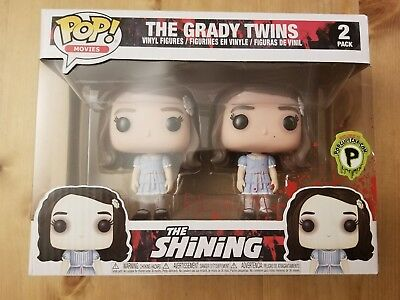 Movies The ShinIng The Grady Twins 2Pack Popcultcha Gift for kids New Funko Pop