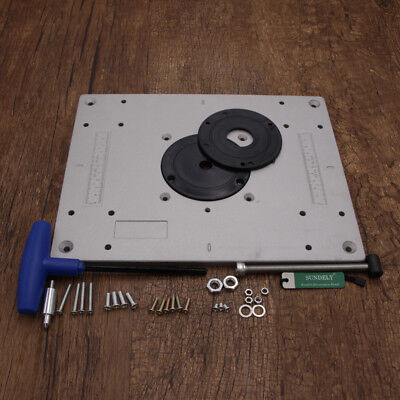 30023510mm aluminium alloy plunge router table insert plate ring 30023510mm aluminium alloy plunge router table insert plate ring woodworking greentooth Image collections