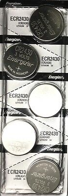 5 New ENERGIZER CR2430 Lithium 3v Coin Batteries Australia Stock FAST SHIPPING