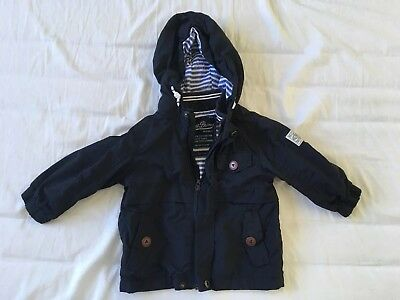 Next Boys Rain Jacket 9-12 Months Excellent Condition