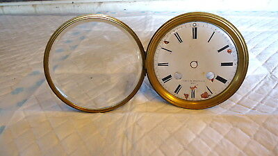 """Antique """"FRENCH"""" Reg 237 Mantel Clock Movement for Restoration or Spares c1833"""