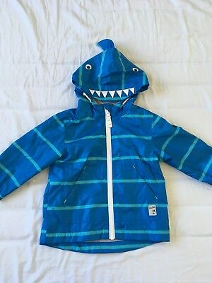 Next Boys Rain Jacket 12-18 Months Excellent Condition