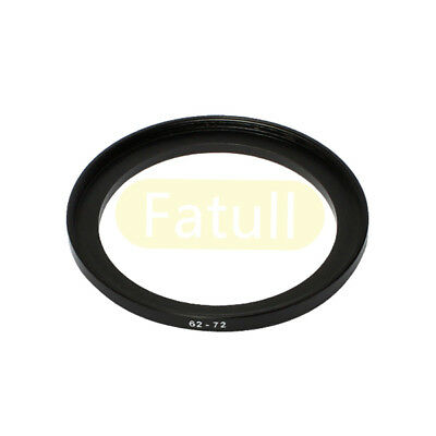 NEW 62mm-72mm Step-Up Metal Filter Adapter Ring