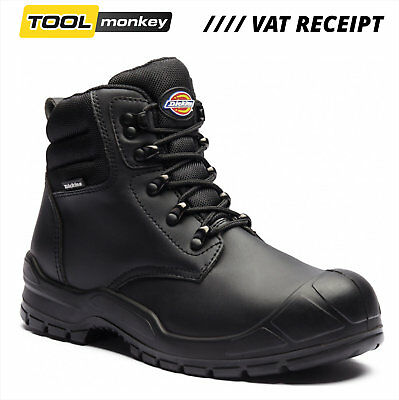 Dickies Trenton Safety Boots Black - Steel Cap & Midsole - Great Value - RRP £35