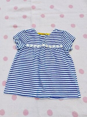 Boden Striped Top Baby Girls 18-24 Months