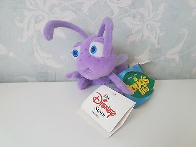 Tagged Dot A Bugs life Disney Pixar Plush Tagged Vintage Collectable rare