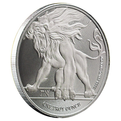2018 Niue Roaring Lion 1 oz .9999 Silver Coin -  BU in Capsule Sold Out At Mint