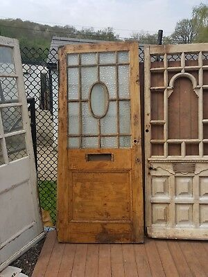 Original Victorian Front Door, Antique