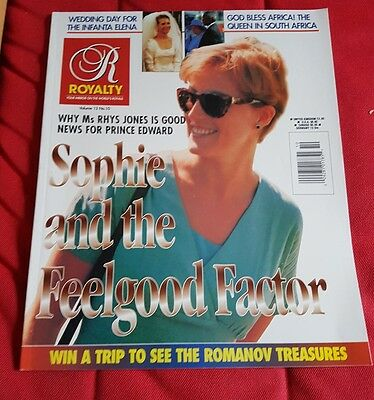 Royalty Monthly Magazine Vol 13  No 10 Sophie Rhys Jones Princess Diana May 1995