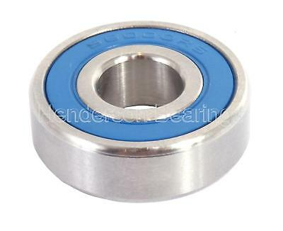 S6010-2RS 50x80x16mm Stainless Steel Ball Bearing (Pack of 5)