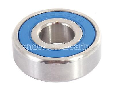 S6306-2RS 30x72x19mm Stainless Steel Ball Bearing (Pack of 5)