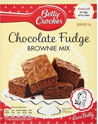 Betty Crocker Brownie Mix Chocolate Fudge (4x415g)