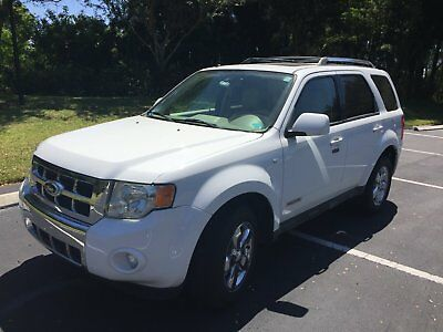 2008 Ford Escape Limited vehicles