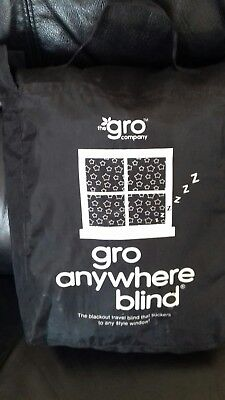 gro anywhere portable blackout blind black out in carry bag stars