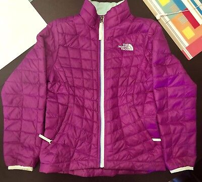 Girls The North Face Thermoball Full Zip Jacket XS 6