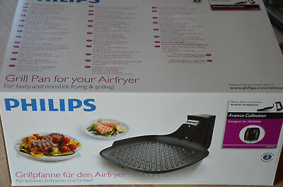 Philips Avance Collection Airfryer Grillpfanne HD9911 (für Airfryer XL - HD9240)