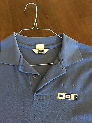 Vintage Southwest Airlines Mens SWA Polo Uniform  Shirt Large
