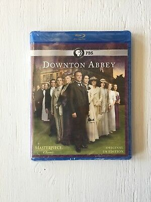Masterpiece: Downton Abbey - Season 1 (Blu-ray Disc, 2-Disc Set) New & Sealed