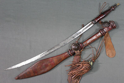 Antique Mandingo sword with a local blade - Early 20th century