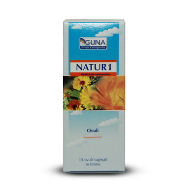 GUNA NATUR 1 - Pack Containing 14 Vaginal Ovules