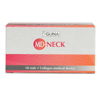 GUNA MD NECK Pack of 10 Ampoules of 2ml