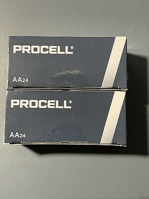 DURACELL AA  Procell Batteries Alkaline Battery 48 Count Expires 3/2024