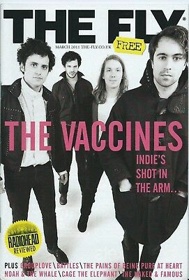 THE FLY Music MAGAZINE The Vaccines cover 2011