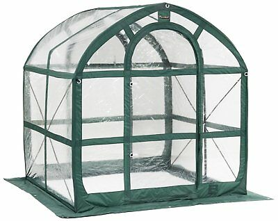 Portable Greenhouse Spring House Shelves Set Flower Plant Pop Up Home Clear
