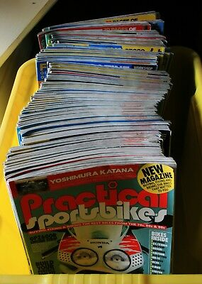 Practical Sportsbikes Magazine Collection Issues 1-78 inclusive RD250LC RG500