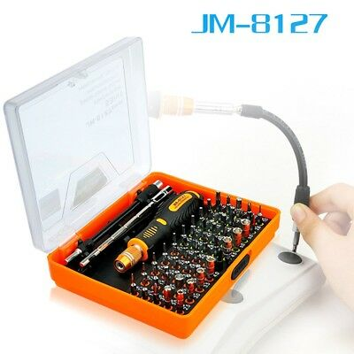 Newest Jakemy JM-8127 53 in 1 Precision Magnetic Screwdriver Set with Torx Hex