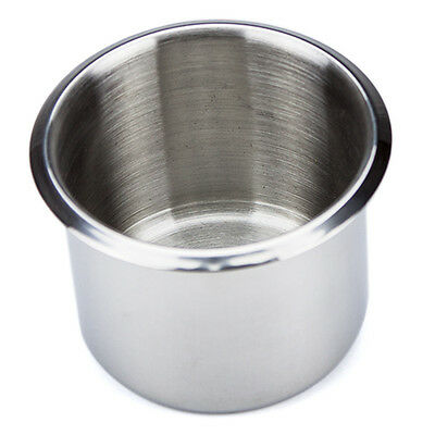 Small Size Stainless Steel Drop In Drink Cup Holder for Custom Poker Table