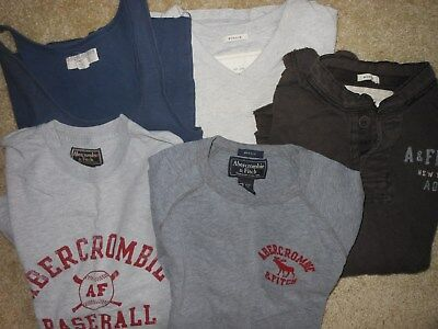 Abercrombie And Fitch Mens Size Medium 5 Pc Lot