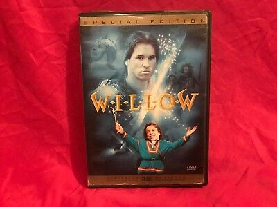 Willow (DVD, 2003, Special Edition Sensormatic) Tested Works