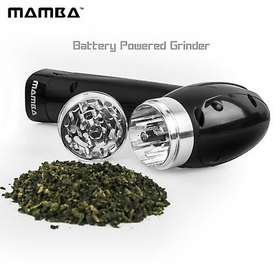Electric Dry Herb1 Grinder by Mamba Battery Powered Tobacco Shredder Grinder