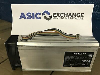 A4 Dominator (Innosilicon) LTC/Miner- 138 MHs Single Add-On TUBE!!! US SELLER!!