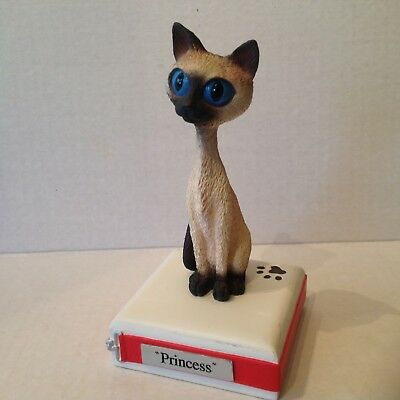 Twisted Whiskers Figurine PRINCESS the Siamese Cat
