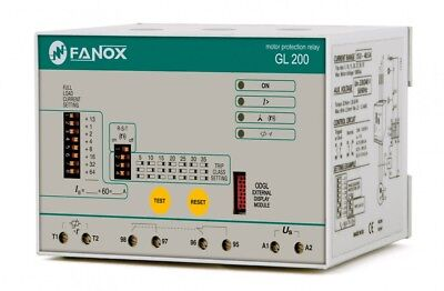 Fanox Motor Integral Protection Relay (GL)