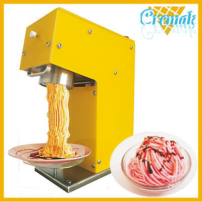 noodles ice cream machine make different shape ice cream make special