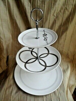 S & P 3 Tier Cake Stand