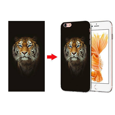 For ZTE Custom Made Customized Personalized Photo DIY Soft TPU Phone Case Cover