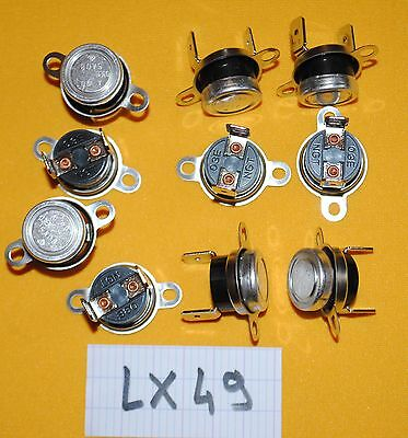 lot de 10 KLIXON NGT 03E  A90 03EN  thermostat - LX49