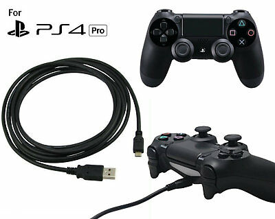 Charging Charger Cable Lead - For PlayStation 4 Pro PS4 Pro Game Pad Controller